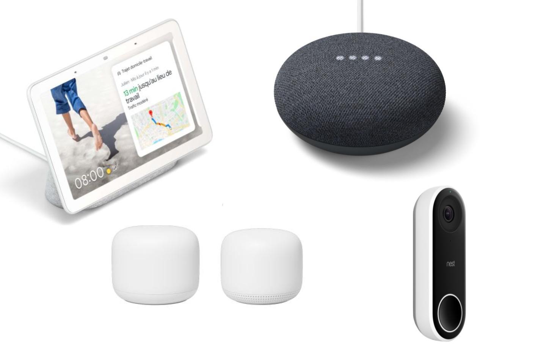 Les appareils Google sont en promotion, dont le Nest Mini à moitié prix