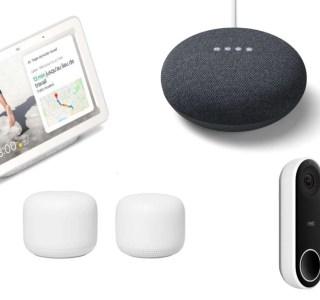 La gamme Nest de Google est en promotion avec des remises jusqu'à -50 %