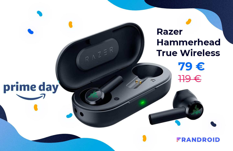 Avis aux gamers : les écouteurs Razer Hammerhead sont en promo pour le Prime Day