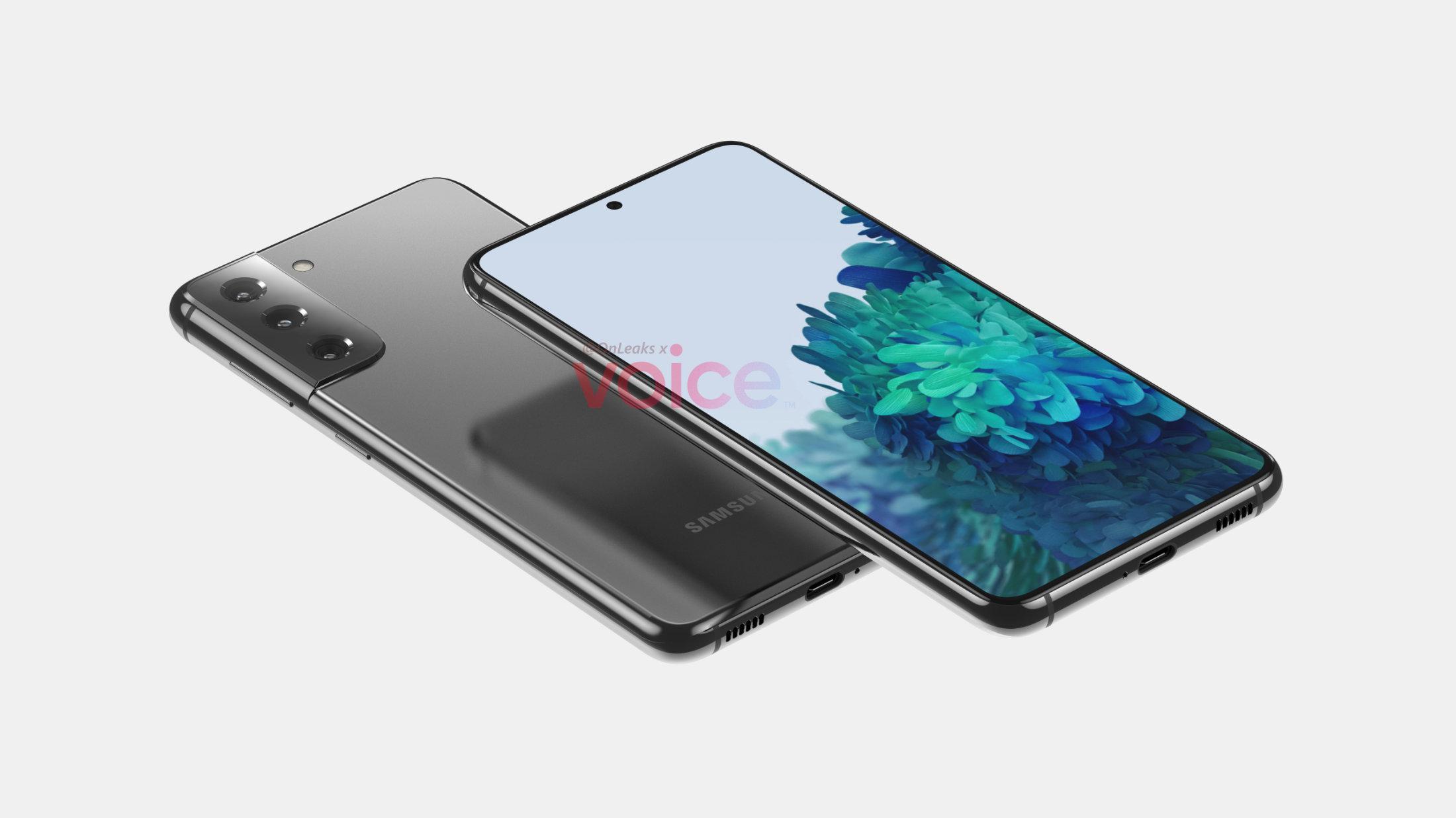 Samsung Galaxy S21 (S30) : voici la première fuite crédible du design
