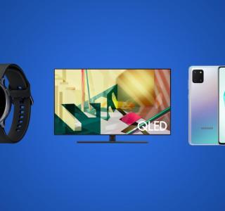 Destockage Samsung : baisses de prix sur les smartphones Galaxy, TV QLED et objets connectés