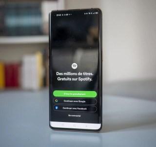 Spotify permet de s'identifier avec son compte Google, mais il y a un hic