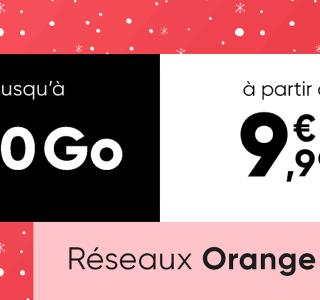Affiché à 9,99 euros, ce forfait mobile peut proposer jusqu'à 200 Go chez Orange ou SFR