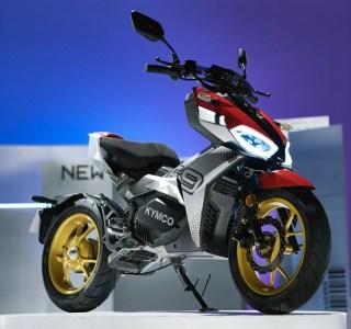 Kymco officialise sa F9, une moto électrique urbaine au look de scooter