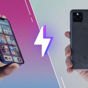 iPhone12 mini vs Google Pixel5: lequel est le meilleur smartphone?