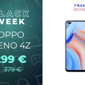 Le Oppo Reno 4Z est 80 € moins cher seulement quelques semaines après sa sortie