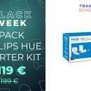 Le starter kit Philips Hue 2 ampoules + prise connectée est à – 40% à la Fnac