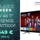 Voici le TV 4K de 70″ le moins cher du moment grâce à une remise de 45 %