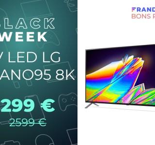 Ce téléviseur LG 8K est à moitié prix pour le Black Friday