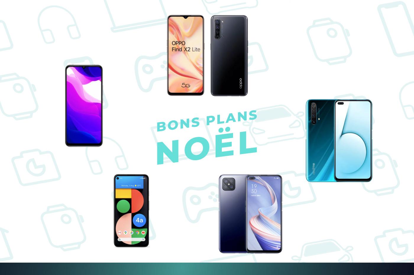 Le Black Friday des smartphones 5G : 4 très bons modèles autour de 300 euros