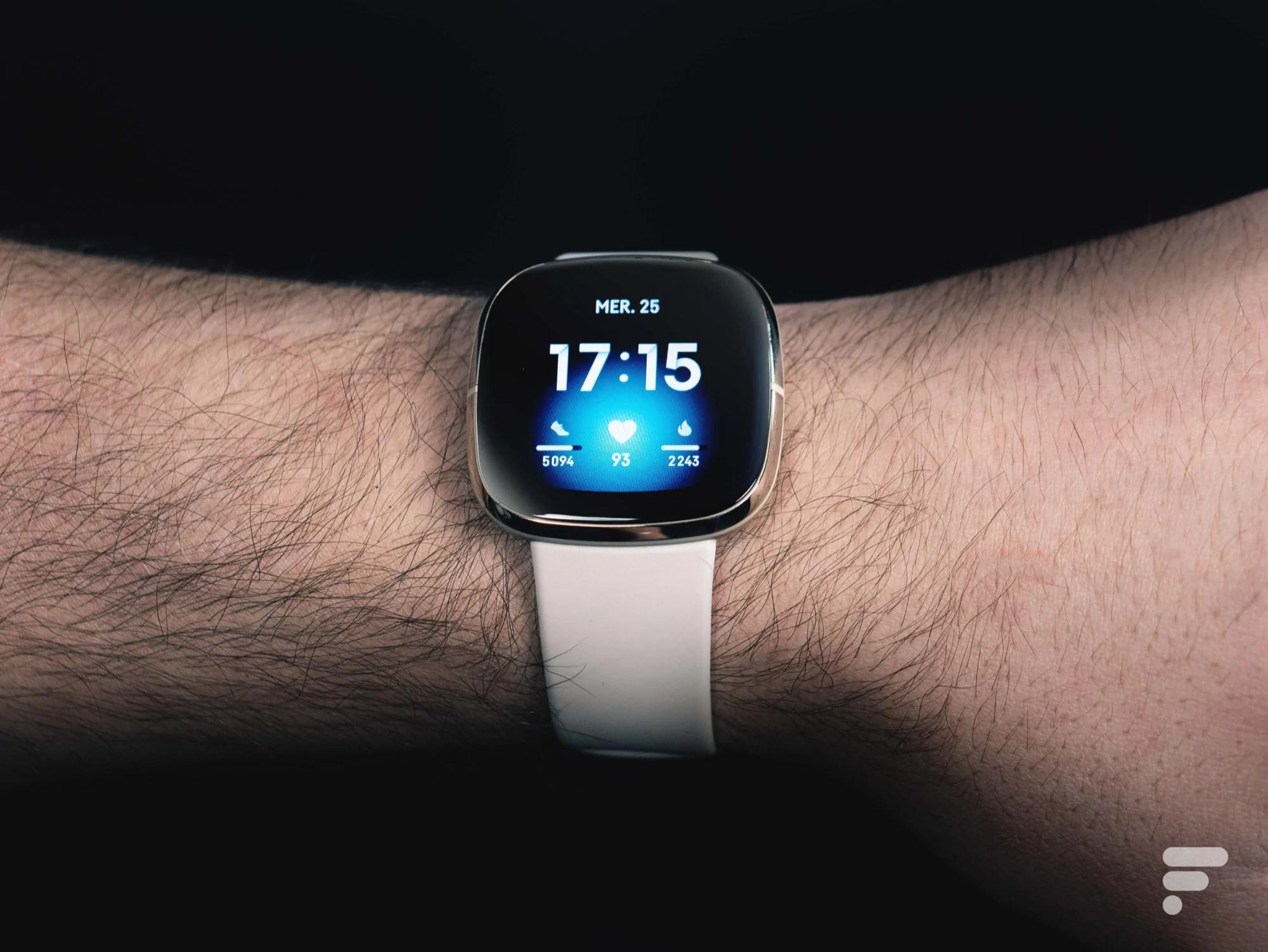 Votre montre connectée Fitbit pourrait un jour vous prendre la tension
