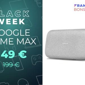 La grosse enceinte connectée Google Home Max baisse son prix de 50 euros