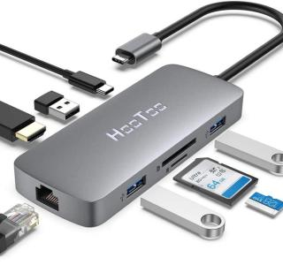 Le très bon hub USB-C 8-en-1 de HooToo est déjà de retour à prix réduit