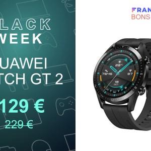 La modèle 46 mm de la Huawei Watch GT 2 est actuellement 100 € moins cher
