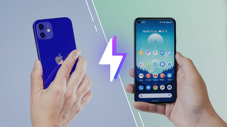 iPhone12 vs Pixel5: lequel est le meilleur smartphone?