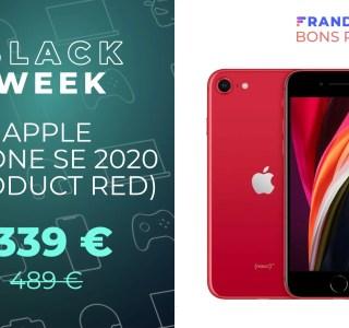 Le prix de l'iPhone SE 2020 n'est jamais tombé aussi bas : seulement 339 €