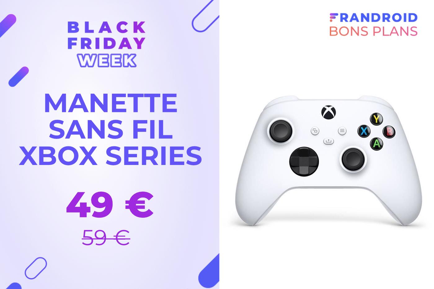 Xbox Series X|S : la manette sans fil est 10 € moins cher pour le Black Friday