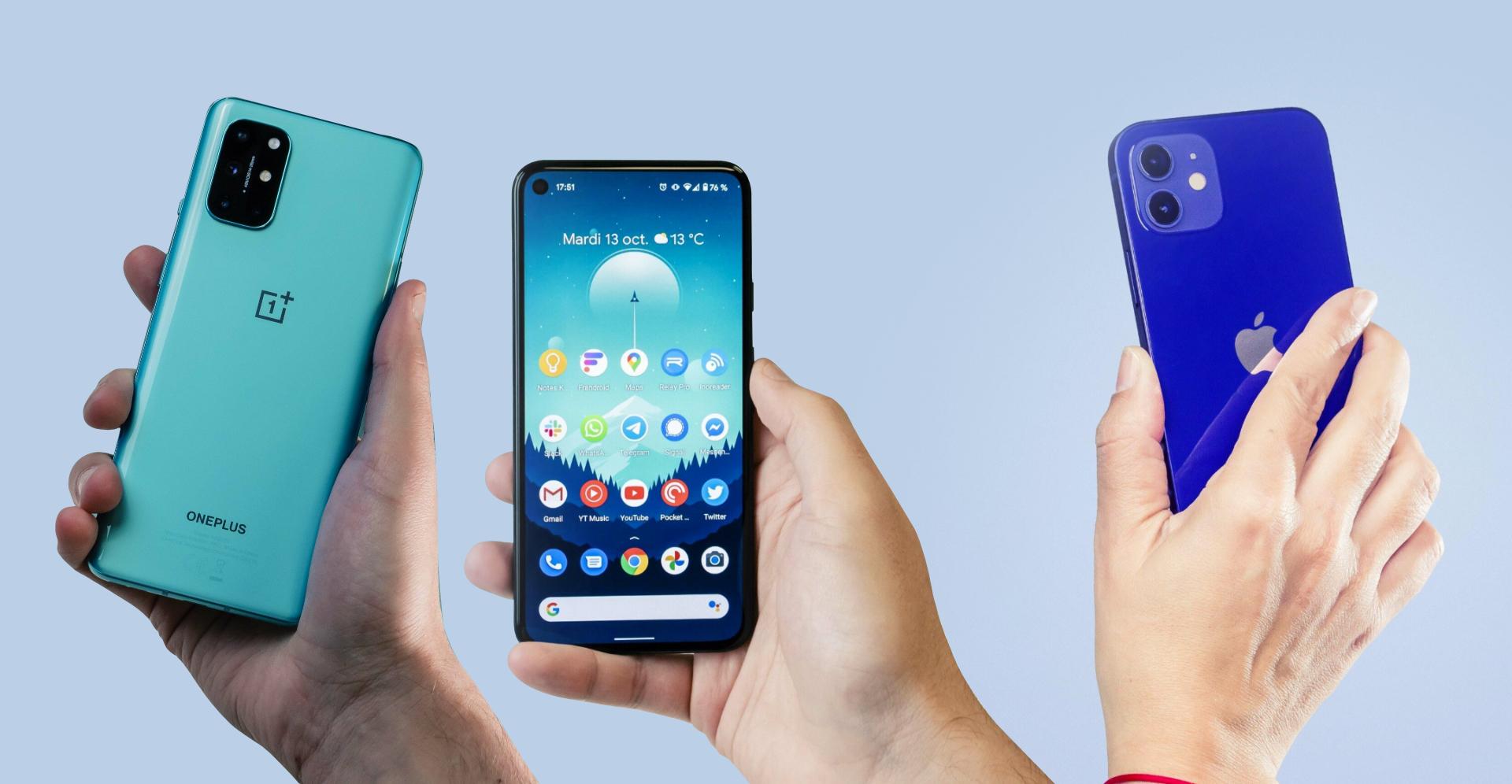 Les 3 meilleurs smartphones de novembre 2020 sur Frandroid