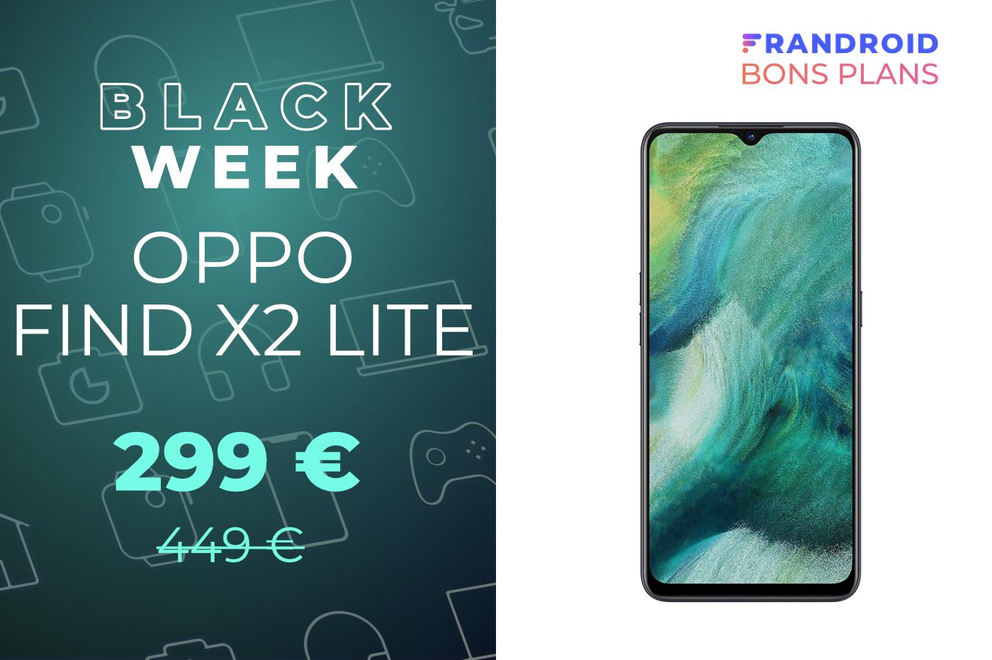 Le Oppo Find X2 Lite compatible 5G passe de 449 à 299 euros