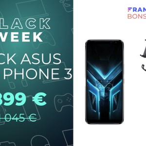 Asus ROG Phone 3 : le smartphone dédié au gaming est enfin en promotion