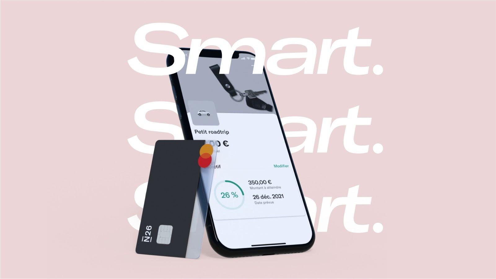 N26 ajuste ses offres et y ajoute N26 Smart, l'essentiel pour moins de 5 euros