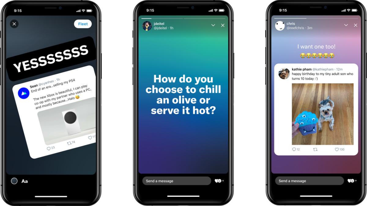 Twitter Fleets : les stories façon Instagram et Snapchat, c'est déjà fini