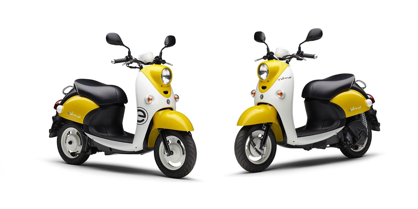 e-Vino: Yamaha lance un scooter électrique bon marché uniquement dédié à la ville