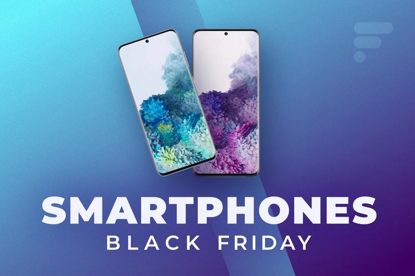 Black Friday 2020 : les meilleures offres de smartphones 4G et 5G