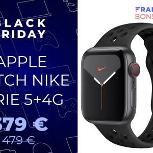 L'Apple Watch Serie 5 compatible 4G est à -100 euros pour le Black Friday