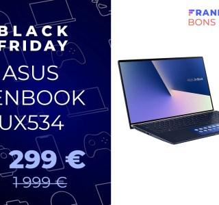 Asus Zenbook double écran avec 700 € de réduction pour le Black Friday
