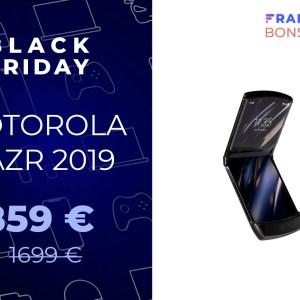 Le smartphone pliable Motorola RAZR 2019 est à moitié prix pour le Black Friday