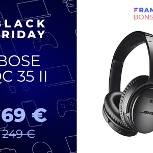 Merci le Black Friday, le Bose QC 35 II est disponible à seulement 169 €