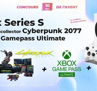 #FrandroidOffreMoi une Xbox Series S avec coffret Cyberpunk 2077 et Game Pass Ultimate