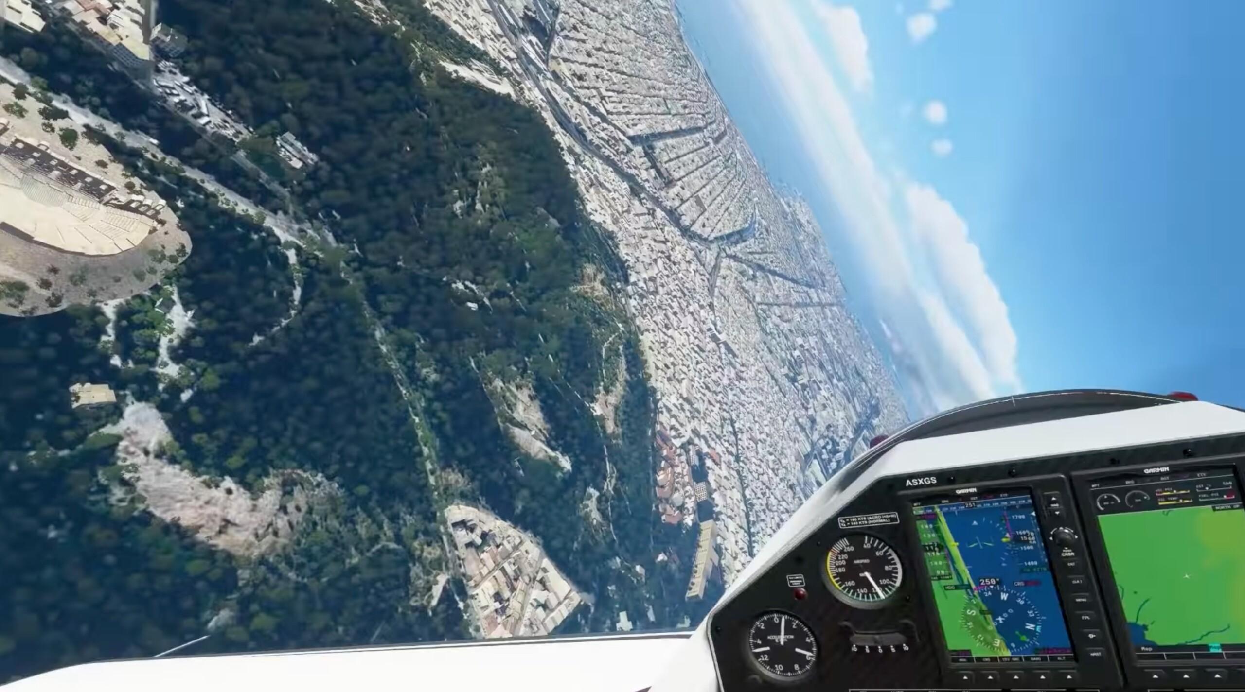 Microsoft Flight Simulator joue maintenant les filles de l'air en VR