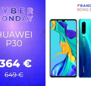 Le célèbre Huawei P30 a attendu le Cyber Monday pour redevenir intéressant