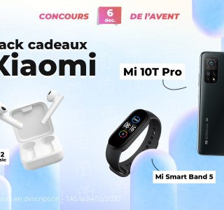 #FrandroidOffreMoi un gros lot Xiaomi (Mi 10T Pro, Mi Smart Band 5 et Mi True Wireless 2 Basic)