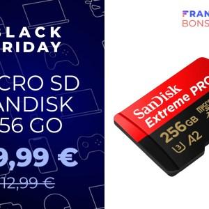 L'excellente microSD SanDisk Extreme Pro 256 Go chute à moins de 40 euros