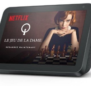 Netflix arrive sur les Echo Show d'Amazon