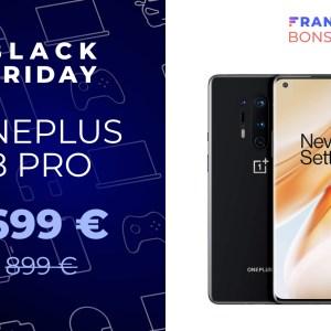 Le smartphone le plus premium de OnePlus est bien plus abordable pour le Black Friday