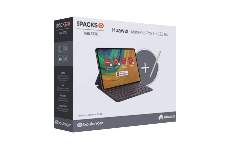 La tablette premium Huawei MatePad Pro avec clavier + stylet est à -35 %