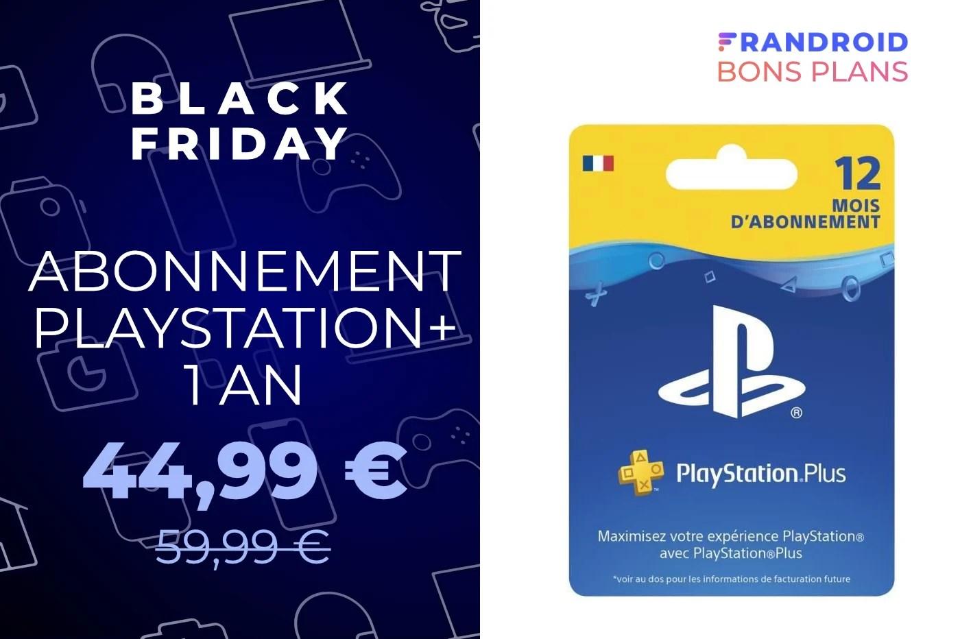 Pour PS5 ou PS4, PlayStation Plus est à -30 % sur Cdiscount pendant le Black Friday