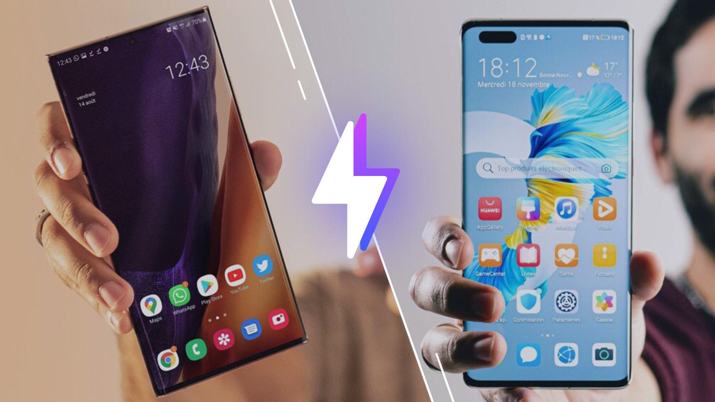 Samsung Galaxy Note 20 Ultra vs Huawei Mate 40 Pro: lequel est le meilleur smartphone?