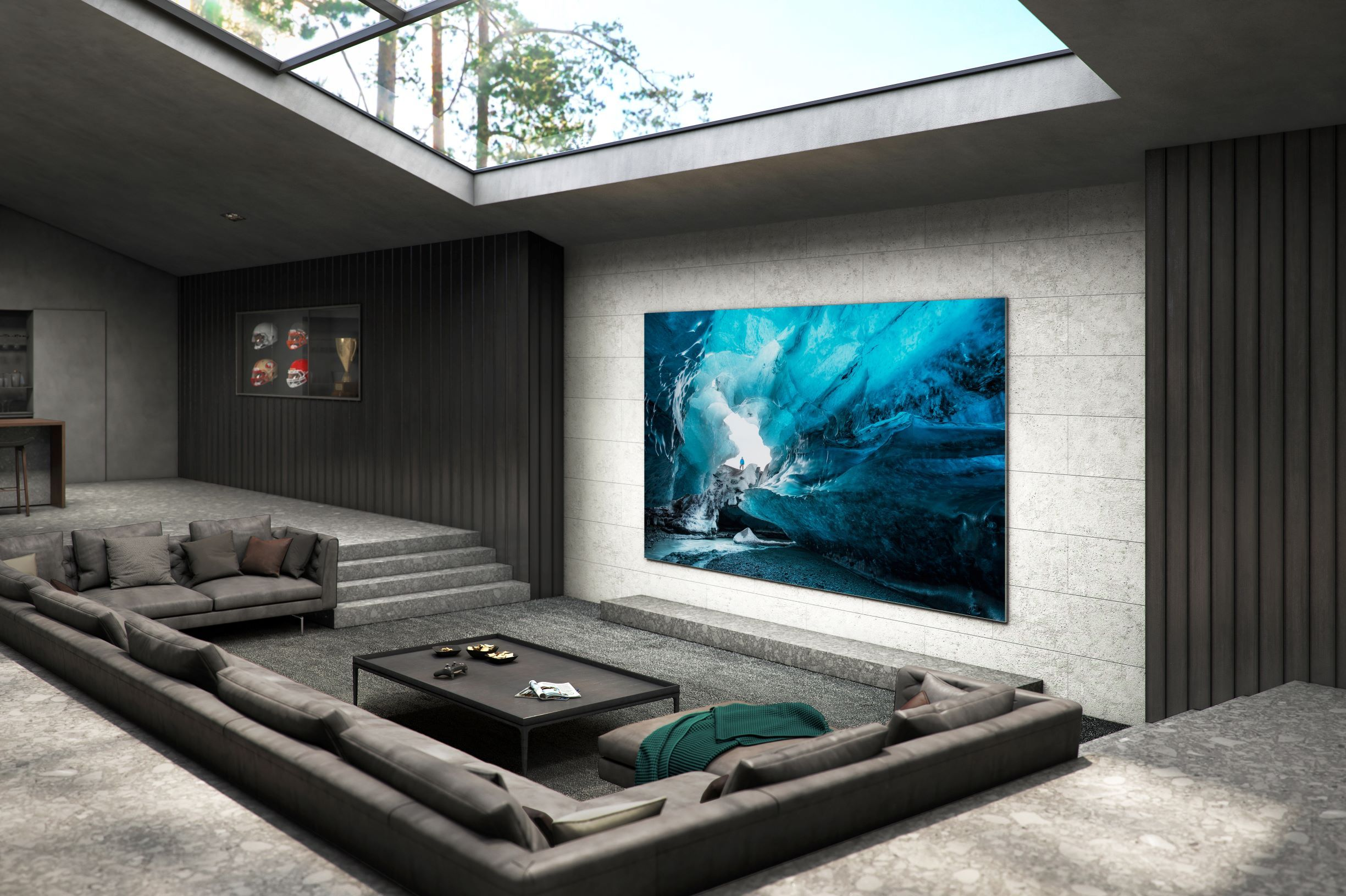 Samsung : le superbe TV 4K microLED de 110 pouces arrive début 2021