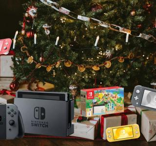 Pack Nintendo Switch Animal Crossing disponible, et bien d'autres pour Noël