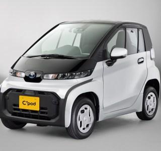 Toyota révèle sa C+ Pod, une toute petite biplace électrique pour se faufiler en ville
