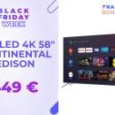 Un TV QLED à 450 € pour le Black Friday ? C'est possible chez Cdiscount