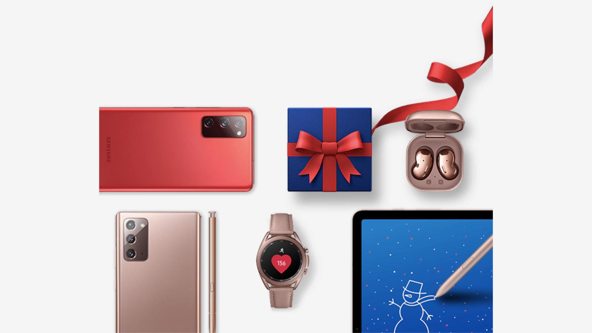 Samsung : jusqu'à 20 % de remise sur les smartphones en créant votre pack personnalisé