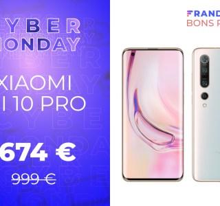 Trop cher à sa sortie, le Xiaomi Mi 10 Pro est à -33 % pour le Cyber Monday