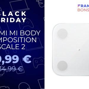 Le prix de la balance connectée Xiaomi chute encore plus pour le Black Friday
