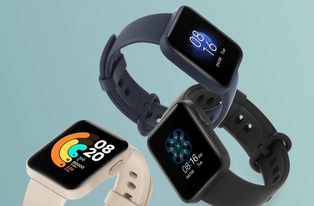 Mi Watch Lite : Xiaomi présente sa nouvelle montre connectée avec suivi GPS